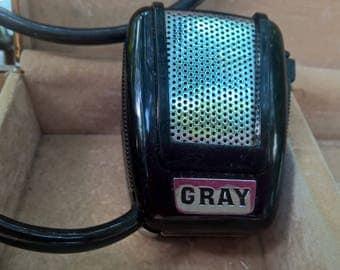 Microphone Vintage Gray brand cool with plug