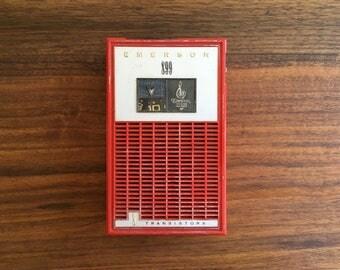 1964 Emerson Mercury 899 Transistor Radio, Playing Well