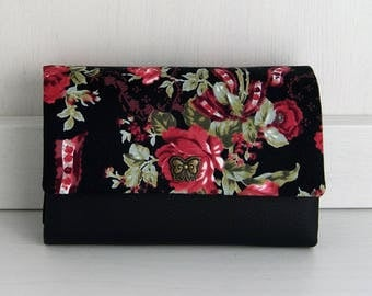 Wallet, purse, little Ruby, rose