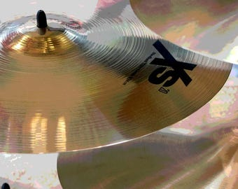 Drum Cymbals Photo Print ~ Man Cave Wall Art ~  Musical Equipment Drums ~ Music Gift for Men, Percussion Instrument Photography, Music Decor
