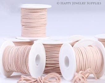 Flat 2mm/3mm/5mm Vegetable tanned leather String/ Leather braid String/ Leather craft/ Leather supplies