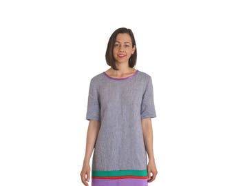 Linen Dress // Silk Dress // Shift Dress // A-Line Dress // T-Shirt Dress // Short Sleeve Dress