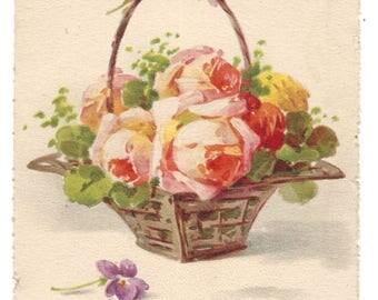 Vintage Postcard - Catherine Klein - Heureuse Annee - Happy New Year - No O 54 Emka Paris