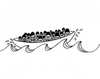 On est tous dans le même bateau