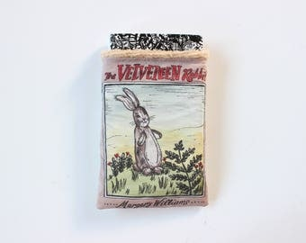 The Velveteen Rabbit Book Sleeve // Hardcover Size // Literary Gift // Protect Your Books