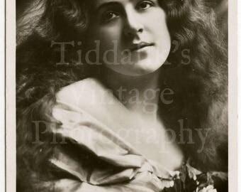 Miss Betty Fairfax Edwardian Actress RPPC Postcard - Elwin Neame - Unused