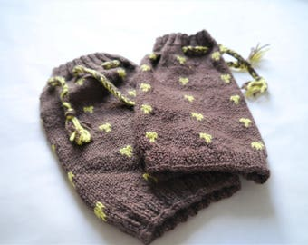Beautiful hand knitted leg warmers for kids to teenagers