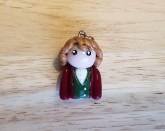 Bilbo Baggins clay figure