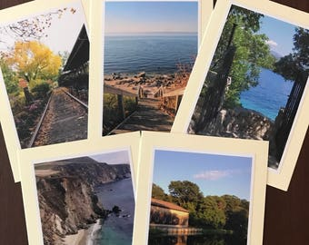 Photo Greeting Cards~Handmade Blank Cards~(Set of 5)