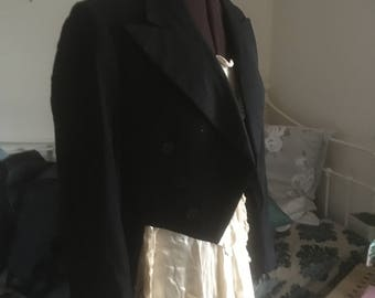 Original Vintage Edwardian Tailcoat