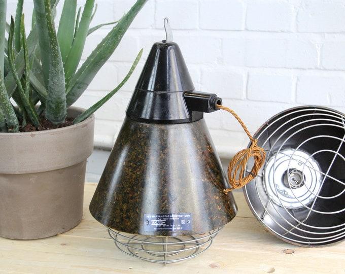 Conical Bakelite Factory Pendant Lights Circa 1950s