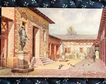 Antique 1900s Postcard, Saalbvrg Peristyl, Severvs Alexander, Oilette, Raphael Tuck Publishers, Vintage Post Card Collectible
