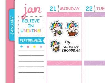 U005- Grocery shopping Unikin