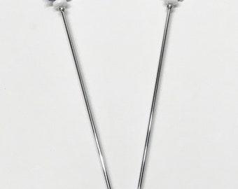 Glass beaded swizzle stir sticks, glass beaded swizzle sticks, Ultra Violet stir sticks, swizzle sticks purple, barware beaded stirrers
