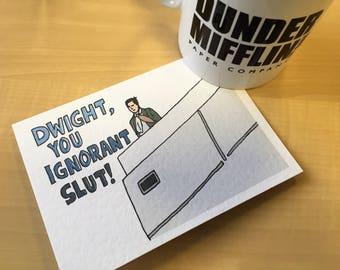 The Office - Michael Scott card