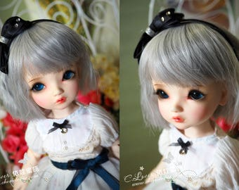 bjd doll girl wig Y-25 (4 colors) for YOSD 1/6BB