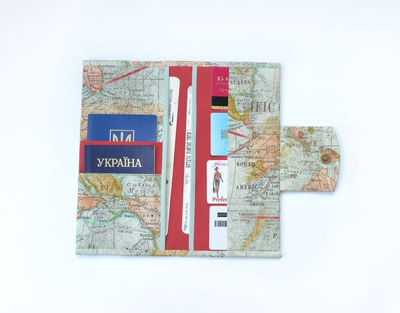 Travel accessories passport wallet travel wallet family like this item gumiabroncs Image collections