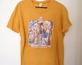 Vintage 1970s Elton John Shirt