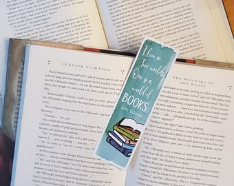 Gilmore Girls - I live in two worlds. One is a world of books - Bookmark