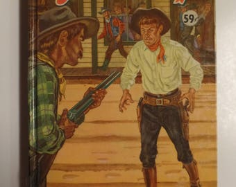 Wyatt Earp by Philip Ketchum 1956 Whitman Publishing Vintage Hardcover Kids Book