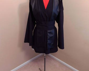 Star Wars Sith Costume Tunic, Obi and Tabbard Cosplay (this does not include the Robe)