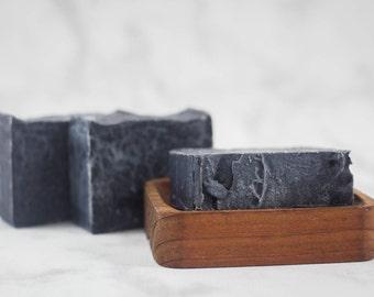Activated Charcoal Soap - Charcoal Soap - Acne Soap - Facial Soap -  All Natural Soap - Bar Soap - Cold Process Soap - Bar of Soap