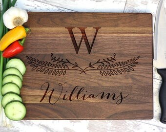 Cutting Board - Housewarming Gift - Kitchen Decor - Personalized Gift
