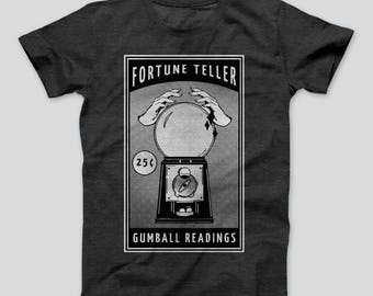 Fortune Teller T-Shirt // Men Graphic Shirt Funny T-Shirt Boyfriend Gift Husband Gift Tumblr Graphic Tees Funny Shirt Sayings