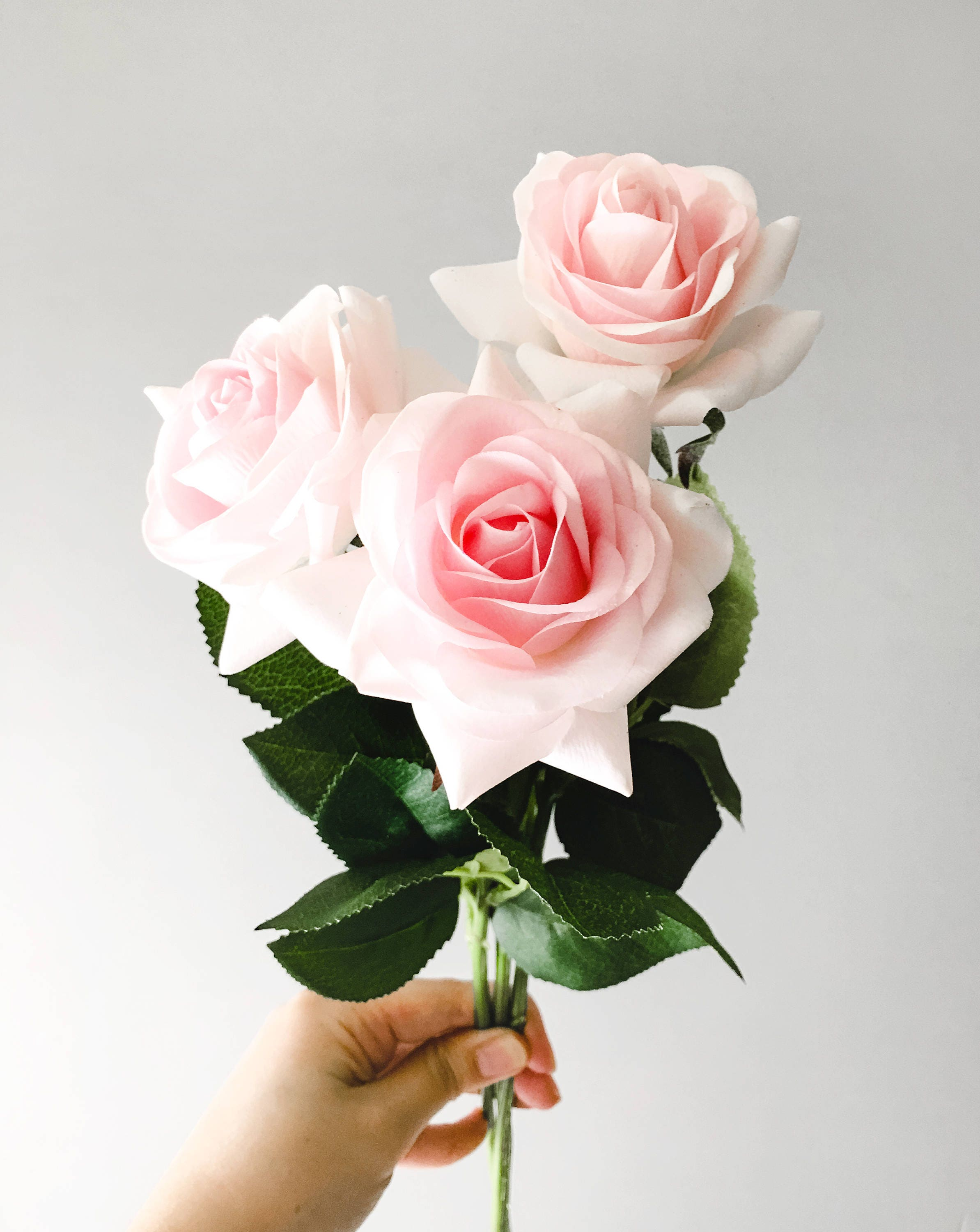 Real touch blush pink roses silk flower silk flowers for diy wedding real touch blush pink roses silk flower silk flowers for diy wedding bridal bouquet boutonniere corsage mightylinksfo