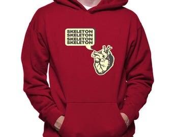 Skeleton Heart Hoodie