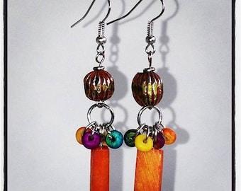 the LIGHTBULB || dangle earrings