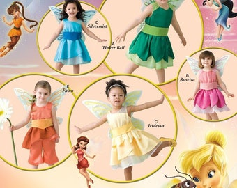 Simplicity Sewing Pattern 2559 Toddler Costumes sizes  (1/2-1-2-3-4)