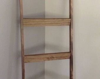 Blanket Ladder - Quilt Ladder - Home Decor - Rustic Decor - Wood Ladder - Ladder - 6 ft Blanket Ladder - Blanket Holder  - Farmhouse Ladder