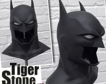 Batman Justice League War cowl / mask - Justice League Dark, Batman Bad Blood etc animated movie style for your cosplay costume