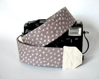 Brown camera strap, adjustbable camera strap, star camera strap, gift for sky lover