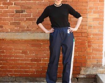 Adidas Vintage 1990s Team Adidas Nylon Pants