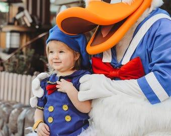 Donald Duck,  Donald Duck for her,  Donald Duck Dress, Donald Duck Costume, Daisy Duck, Donald