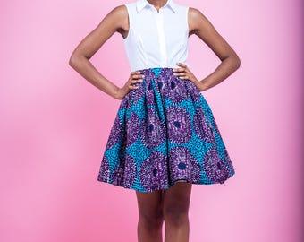 ZFH X TC Millie African Print Skirt