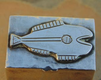 Graziella Laffi ~ Vintage Peruvian Sterling Silver Pill Box with PreColumbian Design