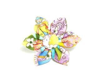 Easter Flower for Dog collar, Cat collar, collar flower, pet collar flower, wedding flower, flowers for dog collars