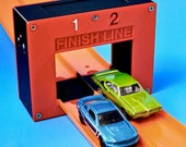 2-Lane Electronic Finish Line Gate (Compatible with Hot Wheels Race Track & Cars)