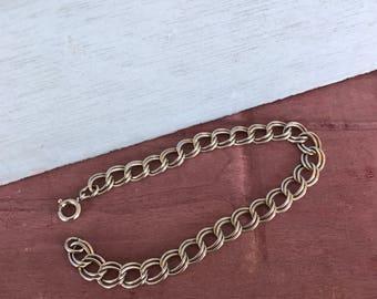 Sterling Silver Chain Link Bracelet