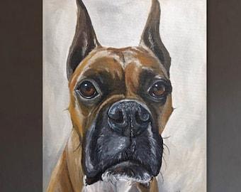 Custom Dog paintings, Custom Pet Painting,  custom Dog Portrait, Custom Cat Painting, Custom Pet Painting, Custom Dog Art