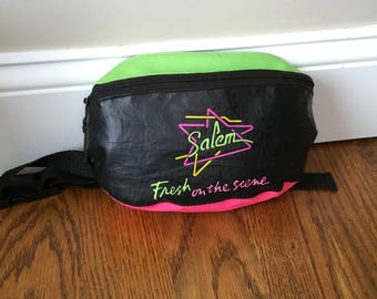Vtg Fanny Pack Salem Cigarette Promotion