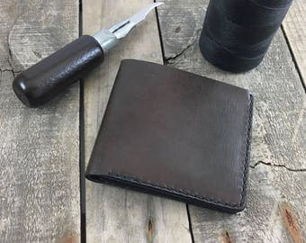Large Leather Wallet, Kangaroo Leather Bifold Wallet, Large Bifold Wallet, Large Billfold Wallet, Large Euro Wallet, Large Wallet for Pounds
