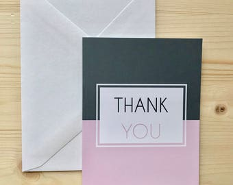 Muenster Thank You Card