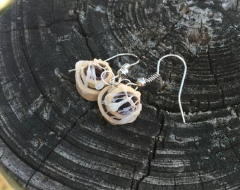 Polymer Clay Cinnamon Bun Earrings (made to order)