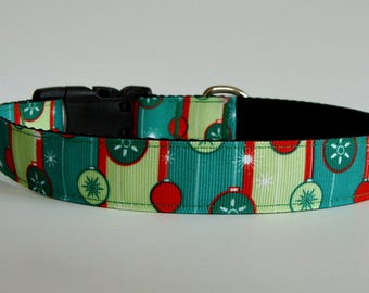 READY TO SHIP! Christmas Dog Collar Ornaments - Medium