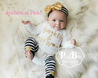 A Baby girl Clothes, Clothes for Newborn, pink Baby Girl Clothes, Baby Girl Hospital Hat, Baby girl Hat, Baby Girl Beanie, Girls hospital be