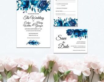 Something Blue Wedding Set